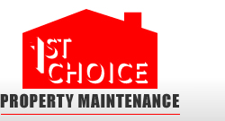 1st choice property maintenance logo